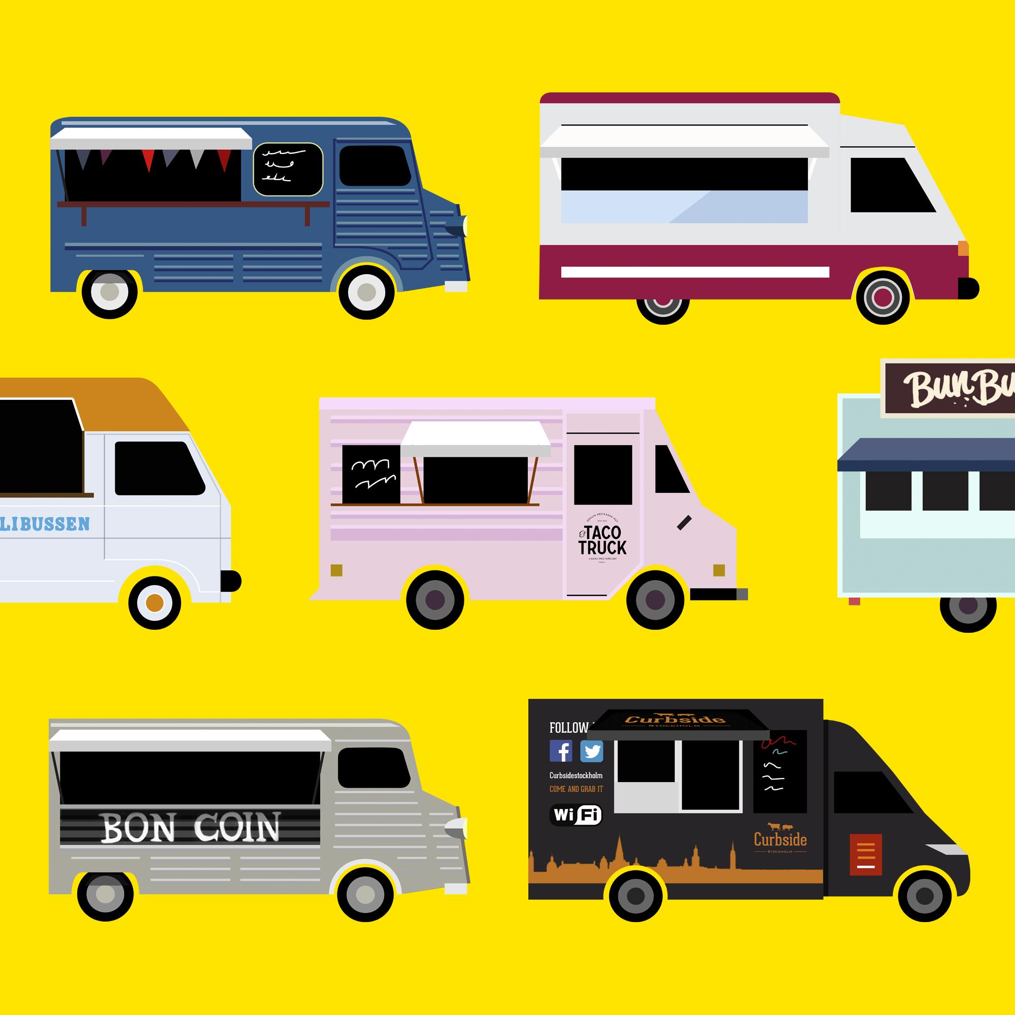 food truck solna